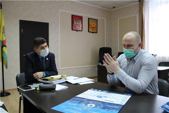 Сергей Беккер встретился с генеральным директором ООО «ЦЗМ»