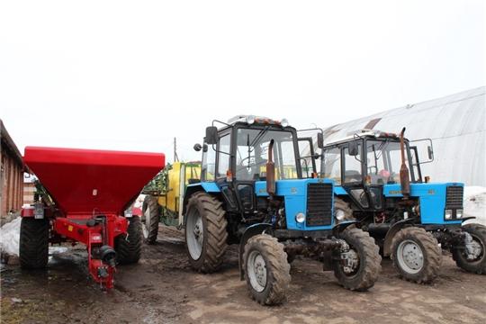 Готовимся к посевной - продолжается техосмотр сельхозтехники