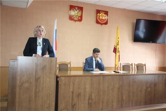 Сергей Беккер провел еженедельное совещание