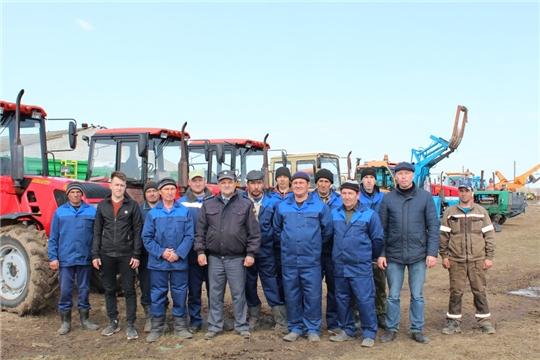 Проверка готовности техники в сельхозорганизациях Цивильского района близится к завершению