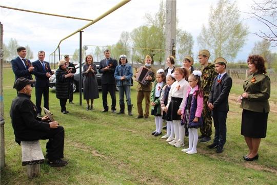 В Цивильском районе поздравили ветеранов Великой Отечественной войны