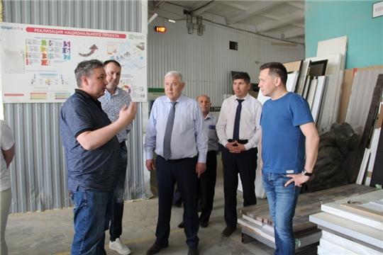 Депутат Госдумы Анатолий Аксаков с рабочим визитом посетил Цивильский район