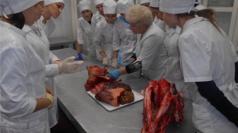 В лаборатории ВСЭ ЗАО ТК «Центральный» прошли практические занятия для студентов