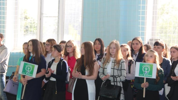 «Химпром» поздравляет студентов подшефных ссузов с Днем знаний