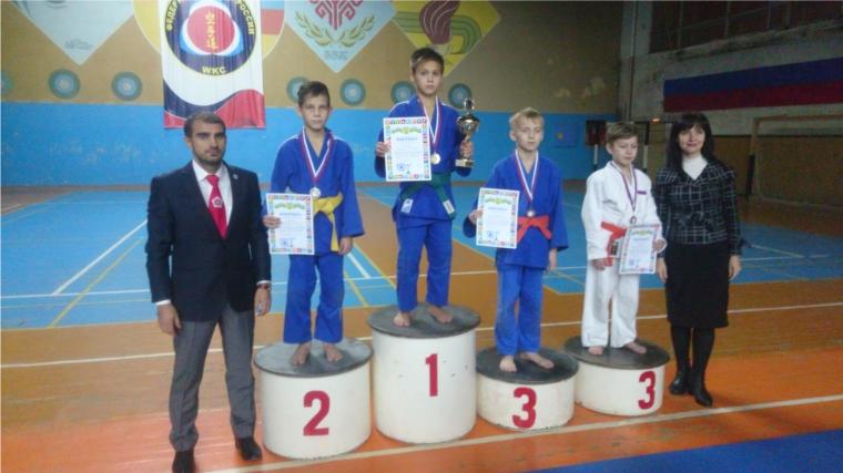 Чебоксарский школьник - победитель межрегионального турнира по дзюдо