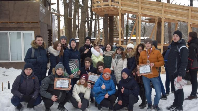 Студенческая молодежь Московского района г. Чебоксары приняла участие в военно-патриотическом квесте «К бою готов!»