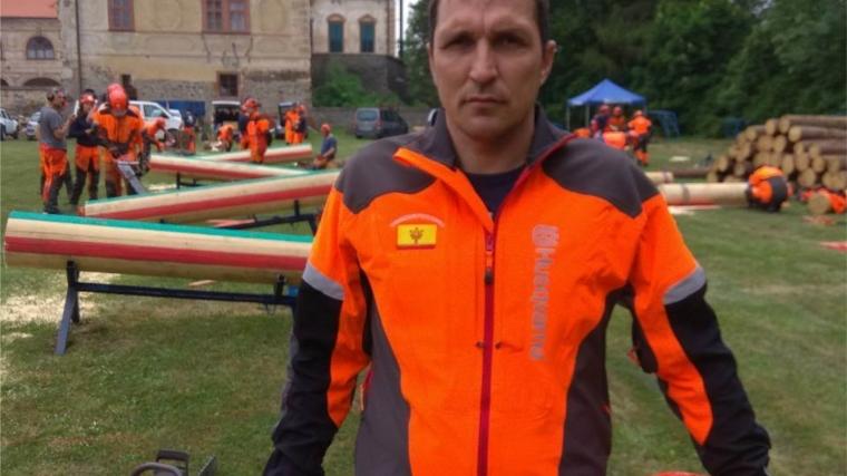 Вальщик леса Артём Шашков стал первым на Кубке мира Husqvarna в Чехии