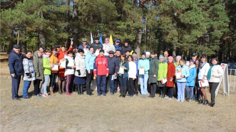 В Шемуршинском районе состоялось закрытие летнего спортивного сезона