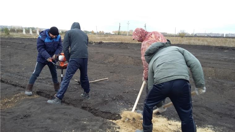 В КФХ Макарова Г.Н. началось строительство коровника на 130 голов