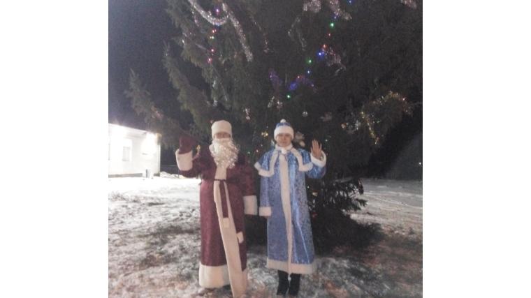 В Чурачикском сельском поселении идет подготовка к Новому 2019 году