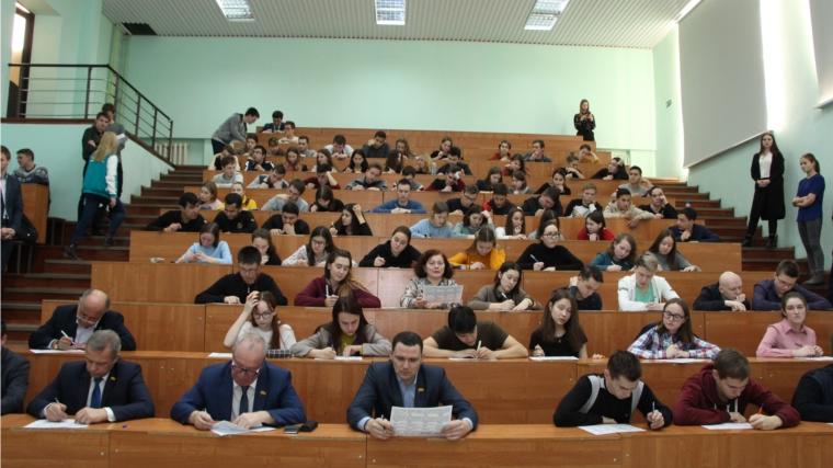 Депутаты прошли тест по истории Отечества