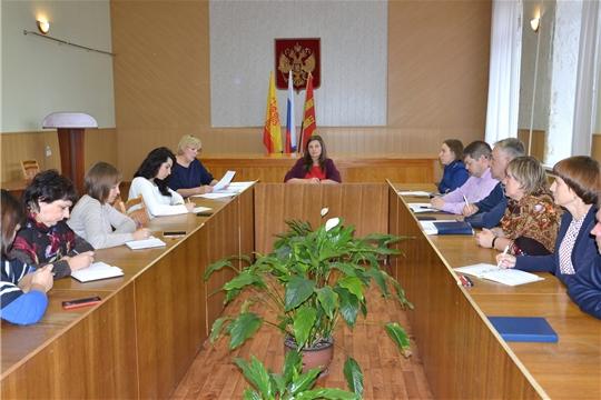 В администрации района состоялось заседание комиссии по делам несовершеннолетних и защите их прав администрации Алатырского района