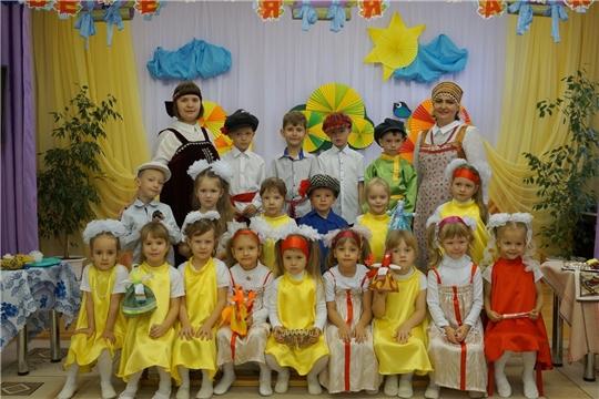 """В Чуварлейском детском саду «Колокольчик» прошло торжество под названием """"Покровская ярмарка"""""""