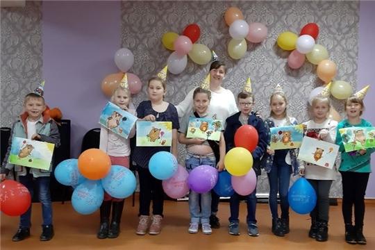 День рождения Винни Пуха провели в Октябрьском СДК