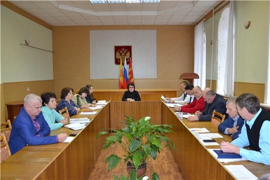В администрации Алатырского района состоялось совещание с главами сельских поселений