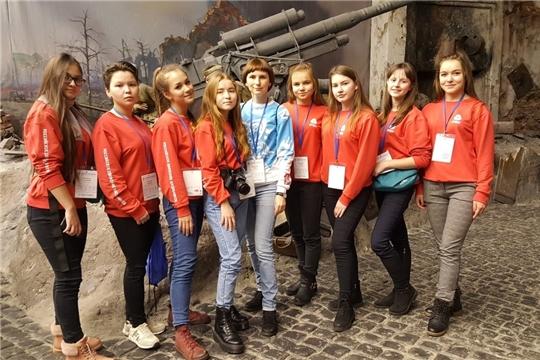 Делегация Чувашии посетила Зимний фестиваль Российского движения школьников