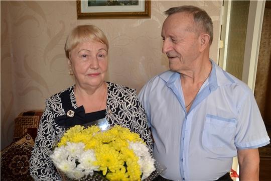 «Золотой» юбилей совместной жизни отметили супруги Стекольщиковы из Алатырского района