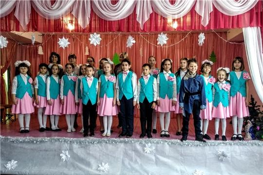 В Алтышевской музыкальной школе прошел новогодний концерт