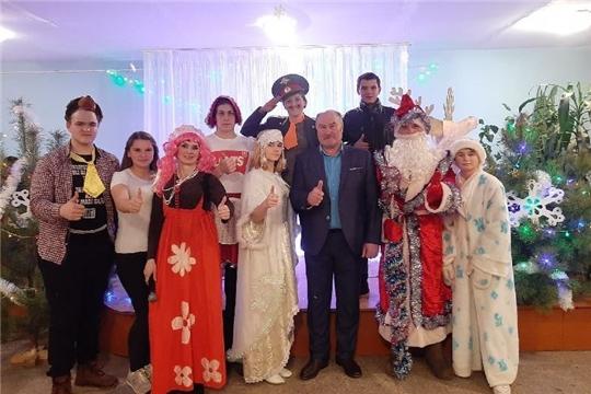 В учреждениях культуры Алатырского района прошли новогодние мероприятия