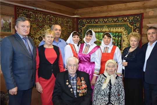 Долгожители Аликовского района получили поздравление от Президента России В.В. Путина