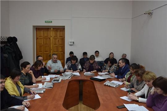 В администрации Аликовского района состоялось заседание Комиссии по проведению переписи населения 2020 года