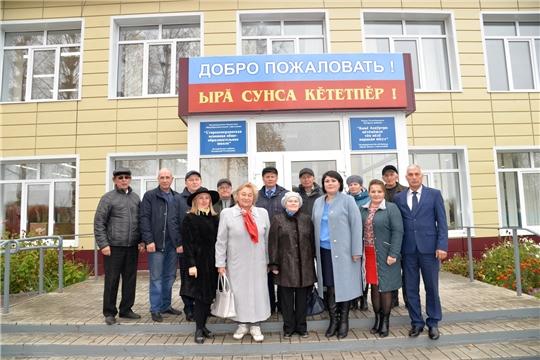 Выездное совещание Общественного совета Батыревского района