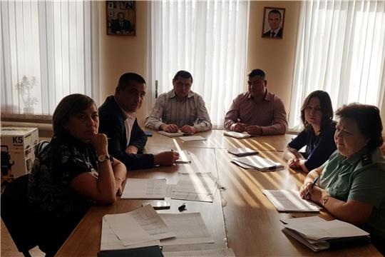 Выездное заседание межведомственной комиссии по вопросам повышения доходов консолидированного бюджета в Батыревском сельском поселении