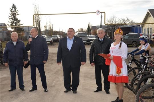 Завершено строительство автомобильной дороги в с.Н.Шигали