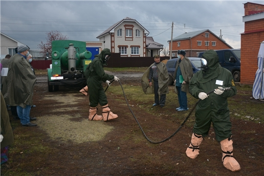 КШУ: тренировки по ликвидации чрезвычайных происшествий