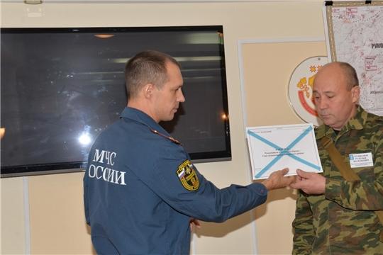 В Батыревском районе  завершены командно- штабные учения, подведены предварительные итоги