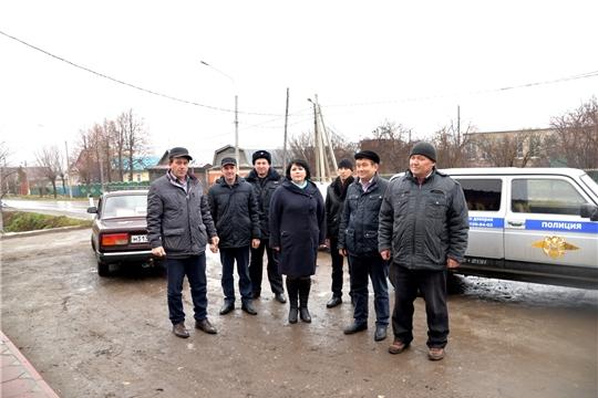 Рейд районной административной комиссии в Шыгырданском сельском поселении