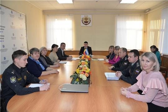 Очередное выездное заседание межведомственной комиссии по вопросам повышения доходов консолидированного бюджета Батыревского района