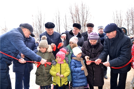В Батыревском районе построен новый сельский Дом культуры