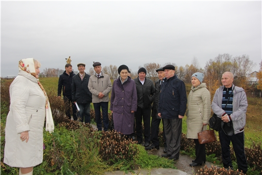 Состоялась встреча с ветеранами Чебоксарского района