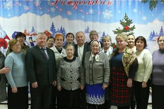 25-летие совета Чебоксарского районного отделения Союза пенсионеров России!