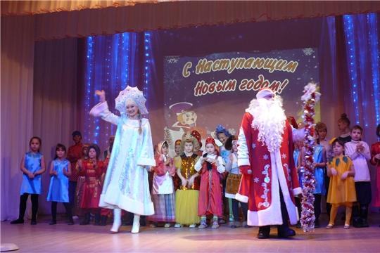 Новогодняя елка для детей-сирот прошла в Чебоксарском районе