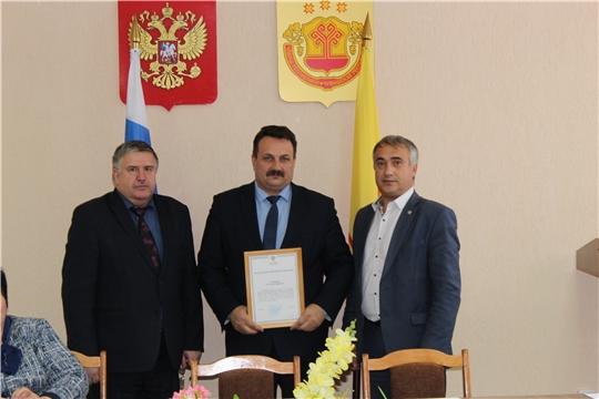 Заместитель министра Андрей Данилов проконтролировал реализацию нацпроектов в Порецком районе