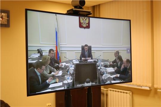 Минстрой России провел совещание в режиме видео-конференц-связи по вопросам ЖКХ