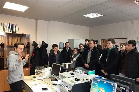 Экскурсия для студентов машиностроительного факультета ЧГУ им. И.Н. Ульянова