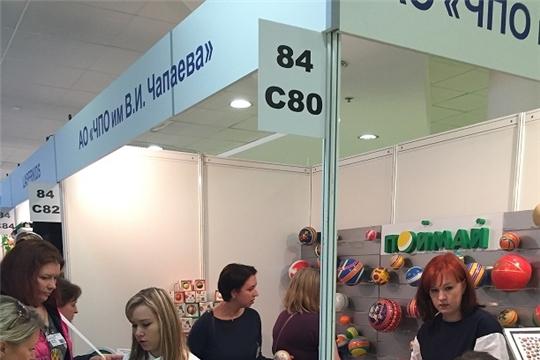 Экспозицию с мячами торговой марки «Поймай» посетили представители более 160 компаний