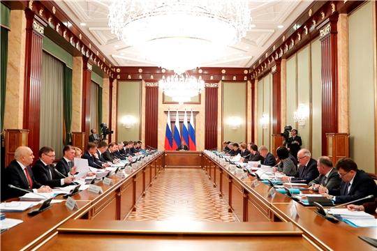 Глава Чувашии Михаил Игнатьев принял участие в совещании Председателя Правительства Российской Федерации Дмитрия Медведева