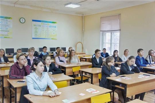 """Встреча со школьниками в рамках проекта """"Билет в будущее"""""""