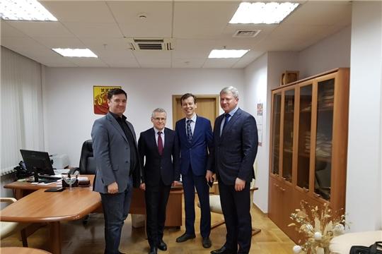 Министр экономического развития, торговли и промышленности встретился с белорусскими представителями, посетившими Чебоксары с рабочим визитом