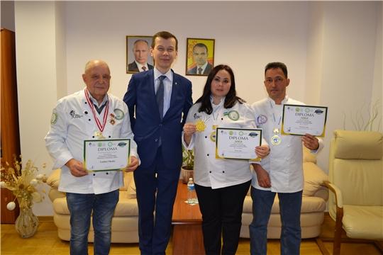 Кулинары Чувашии из Узбекистана вернулись с наградами!