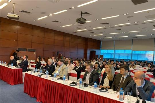 Представители Чувашской Республики принимают участие в выставке «Expo-Russia Vietnam 2019»