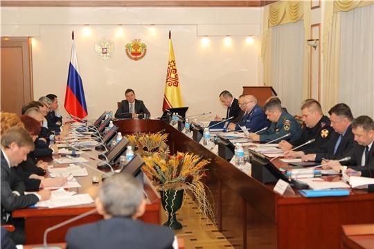 Состоялось заседание антитеррористической комиссии в Чувашской Республике