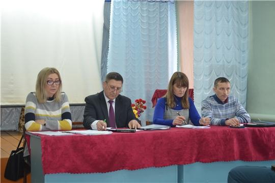 Единый информдень в Мариинско-Посадском районе: обсудили повышение качества жизни граждан