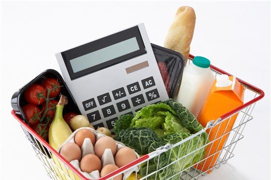 О стоимости минимального набора продуктов питания в ноябре 2019 года