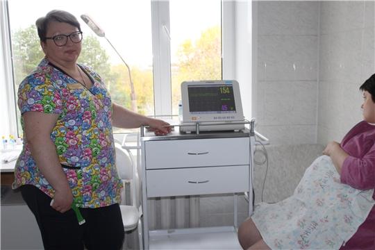 В акушерское отделение Алатырской центральной районной больницы поступило новое медицинское оборудование
