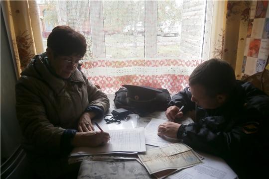 В Алатыре прошёл рейд по семьям, находящимся в социально опасном положении